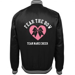 Fear The Cheerleading Bow Custom