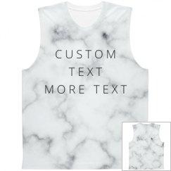 Custom Marbled All Over Print