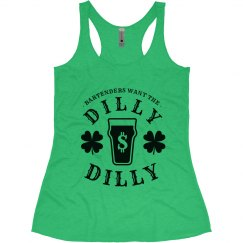 Bartender's St. Patrick's Dilly