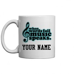 Music Marching Band Choir Musician Mug