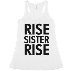 Rise Sister Rise Feminist Crop