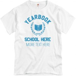 Yearbook Team Tee