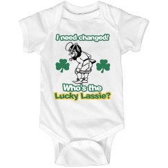 Dirty Leprechaun Diaper Change