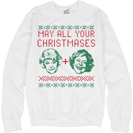 Bea And Betty Golden Girls Ugly Sweater