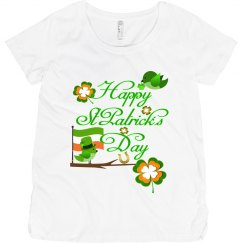 Happy St Patrick's Day, Maternity Top