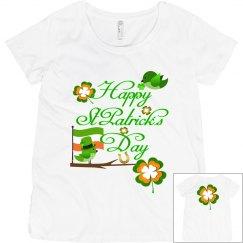 Happy St Patrick's Day, Maternity Top