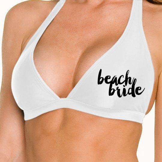 Beach Bride Swim Top