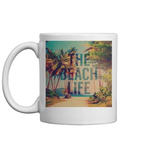 Beach Life Coffe Mug