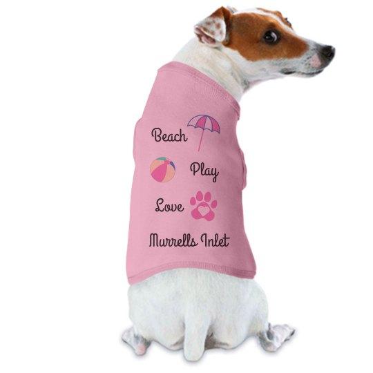 Beach Play Love Tank - Murrells Inlet