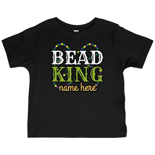 Bead King Custom Name Tee