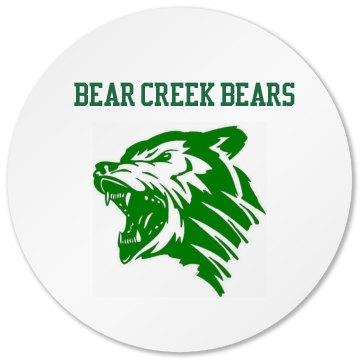 Bear Creek Bears Coaster
