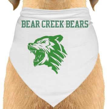 Bear Creek Bears Doggie Bandana
