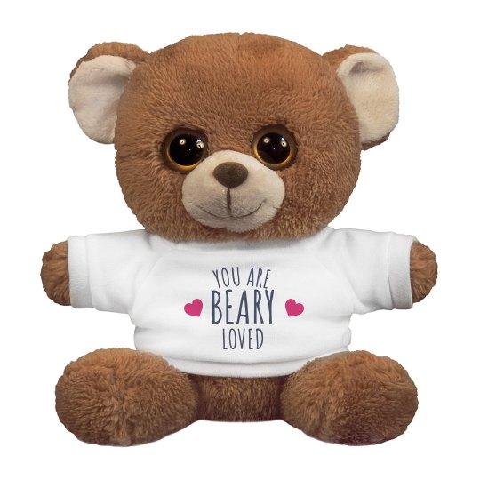 Beary Loved Custom Bear