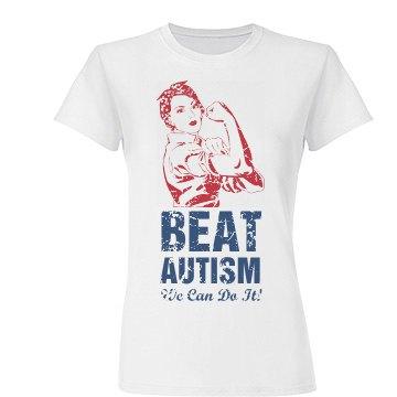 Beat Autism Puzzle Colors