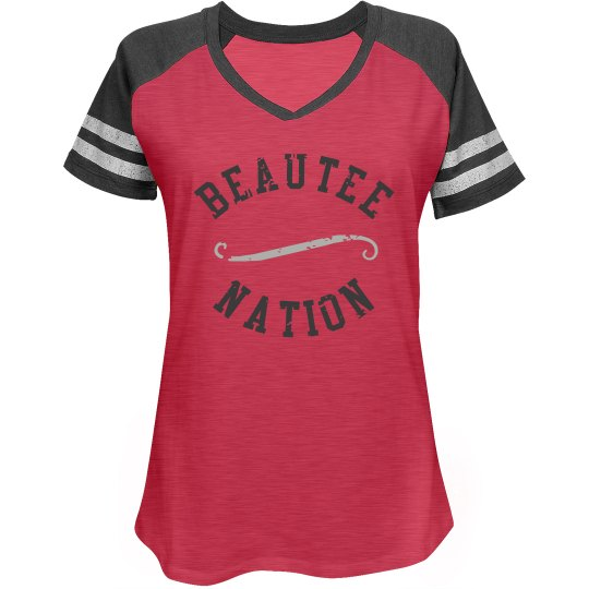 BEAUTEE NATION JERSEY STYLE 2 - Red