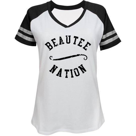 Beautee Nation Jersey Style 2 - White