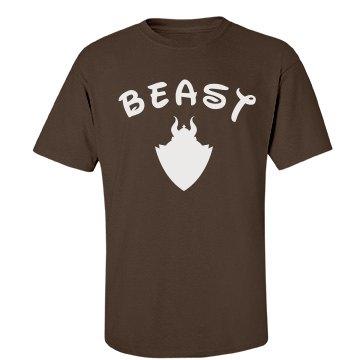 Beauty/Beast Matching Couple