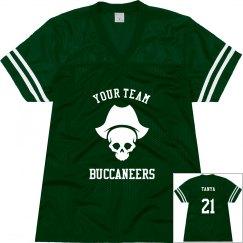 Custom Buccaneers Custom Football Jersey
