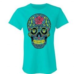 Rose Sugar Skull