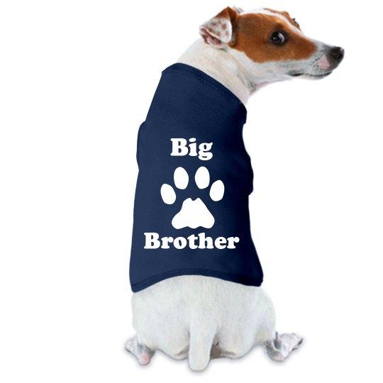 6e0260453 Wet Nosed Big Brother Film & Foil Dog Tank Top