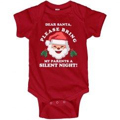 Dear Santa Silent Night