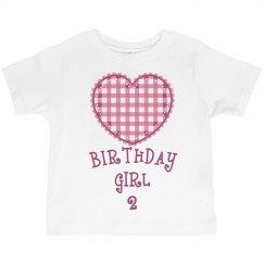 Birthday girl is 2
