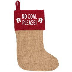 No Coal For Me Please