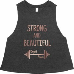 Strong And Beautiful Muscle Tank