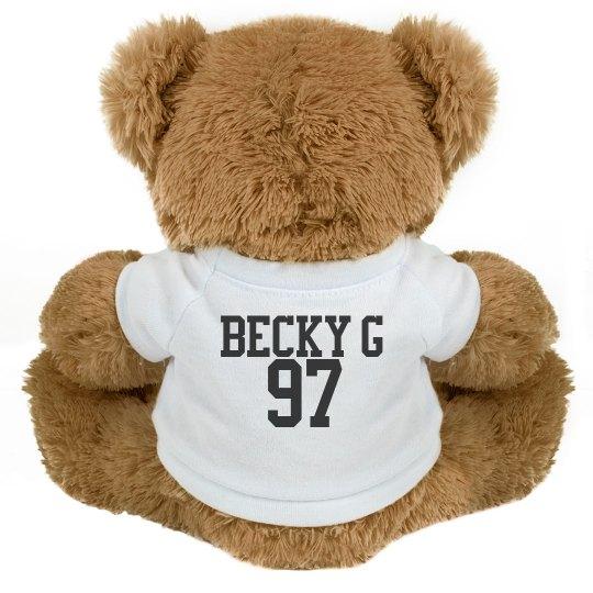 Becky G Teddy Bear
