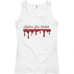 Gotica da fetish blood drip tee
