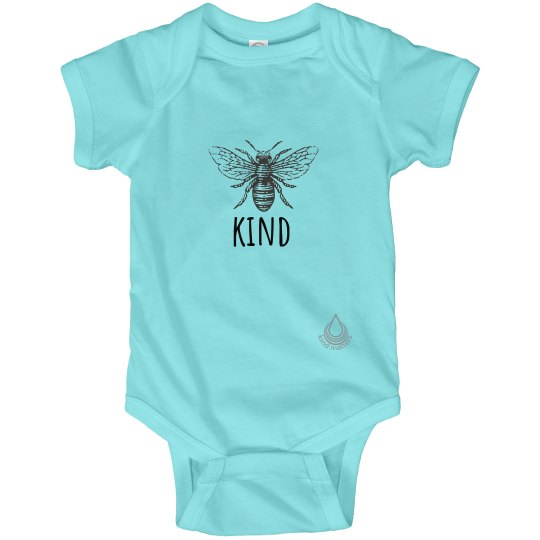 Bee Kind infant onesie