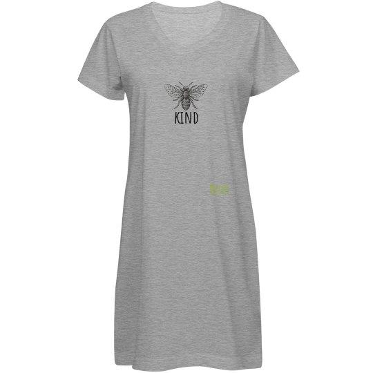Bee Kind tee shirt dress