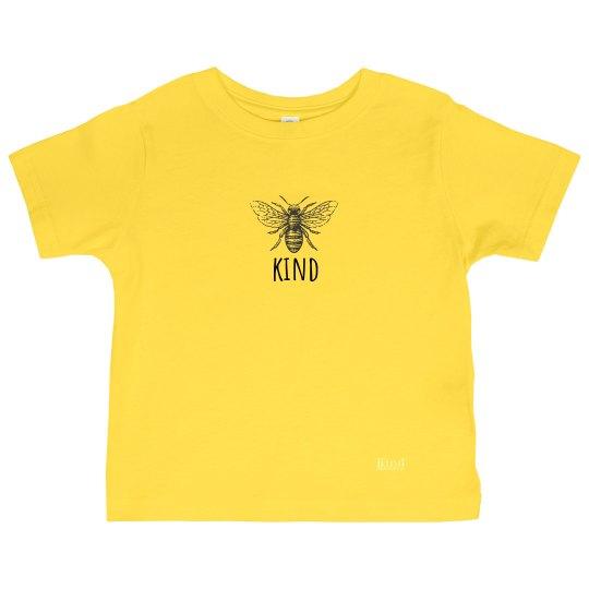 Bee Kind toddler tee