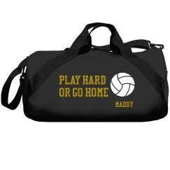 Play Hard Volleyball Bag