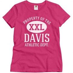 Davis athletic department