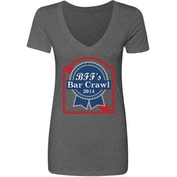 Beer Ribbon Bar Crawl