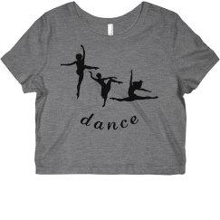 Dance Crop Shirt