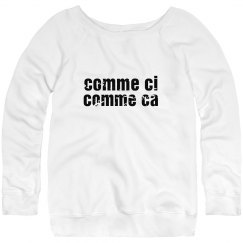 French Words Sweatshirt