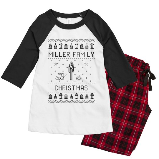 Before Christmas Youth Family PJ's