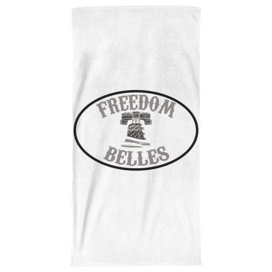 Belles beach towel