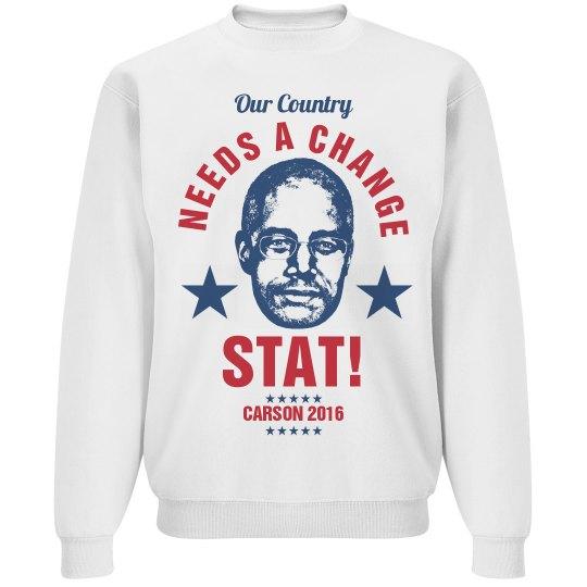 Ben Carson 2016 Stat!