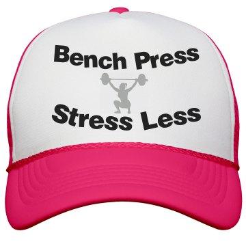 Bench Press Lady Cap- Neon Pink