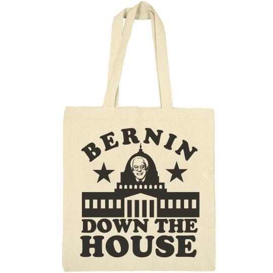 Bernin Down the House with Bernie Sanders