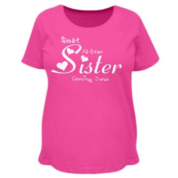 Best all-star sister maternity top