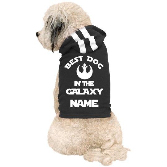Best Dog In The Galaxy Custom Name