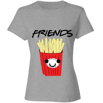 Best Friends French Fries Tee