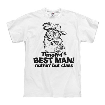 Best Man Bachelor Tee