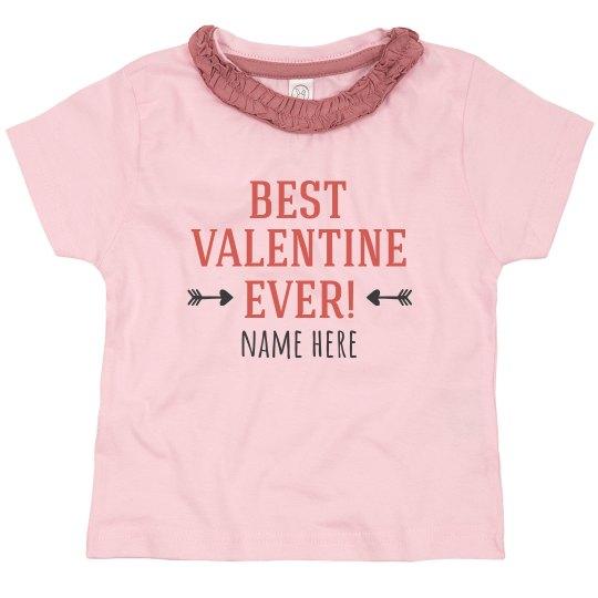 Best Valentine Custom Ruffle Tee