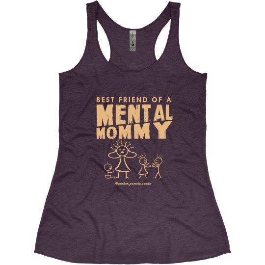 Bestie Mental Mommy Racerback Tank