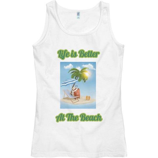 Better at the Beach Tank